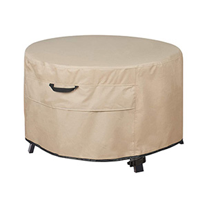 Fire Pit Table Cover Round